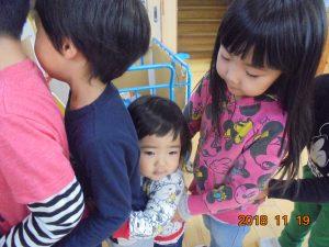 2歳児クラスのお友だち